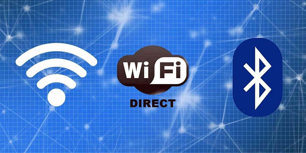 wifi-direct bluetooth conexiones android