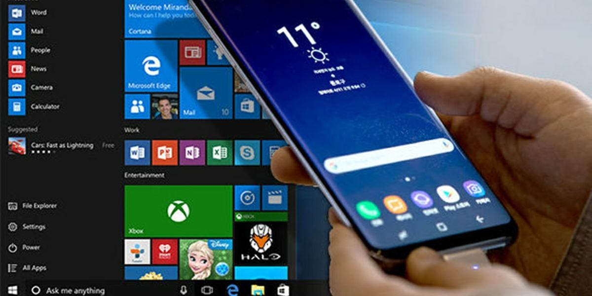 windows 10 en galaxy s8 y xiaomi mi 6