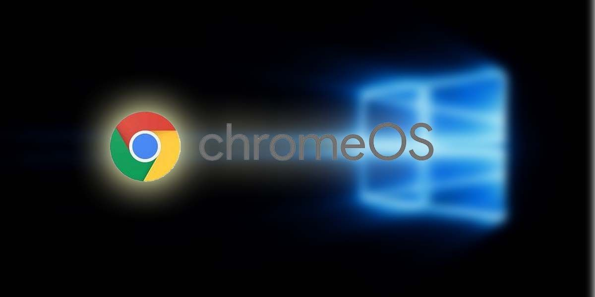 windows 10 Chrome OS