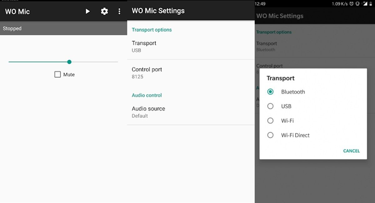wo mic en android