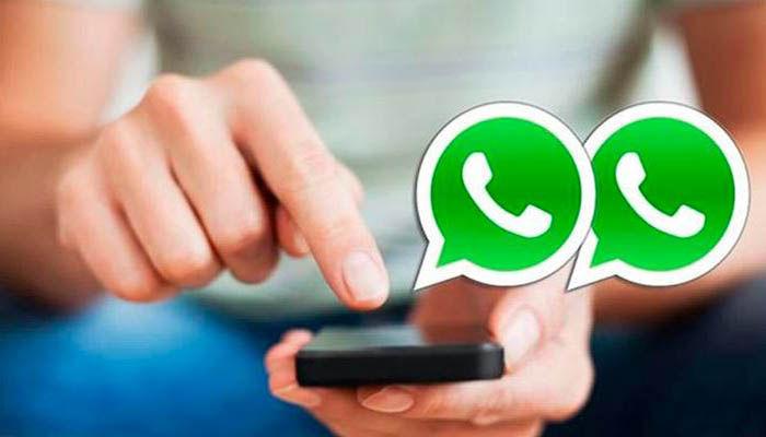 whatsapp doble