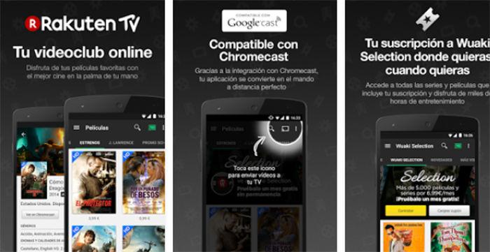 wuaki tv para Android