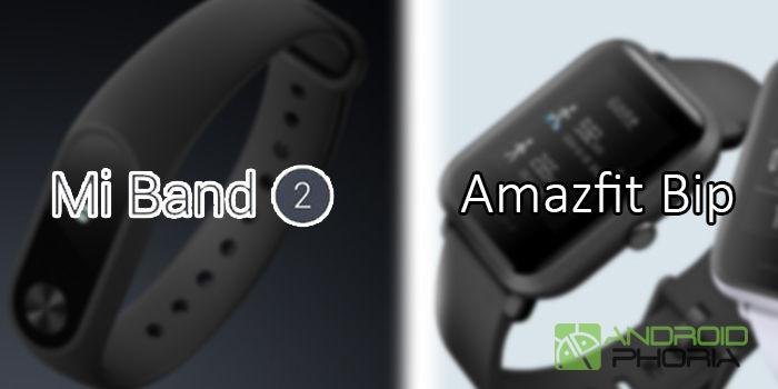 pantalla detalles nueva xiaomi band 3 amazfit