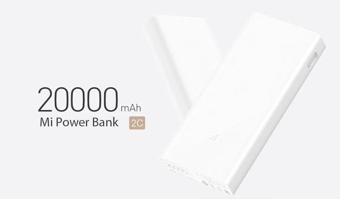 xiaomi bateria externa 20000 miliamperios