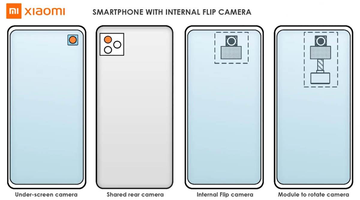 xiaomi cámara giratoria oculta móvil