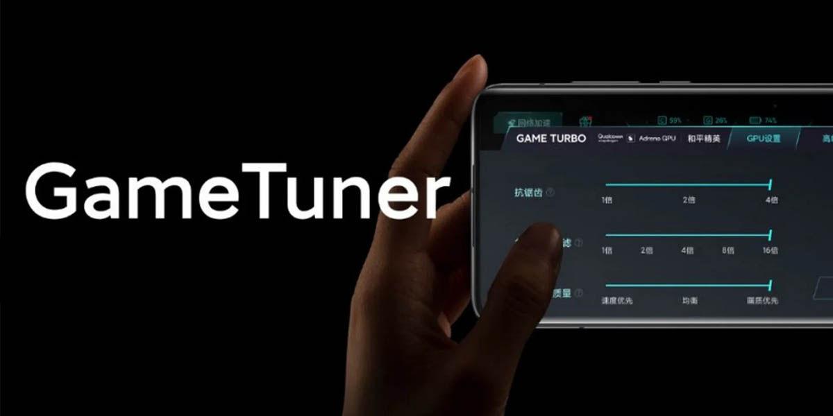 xiaomi game tuner personalización gráfica