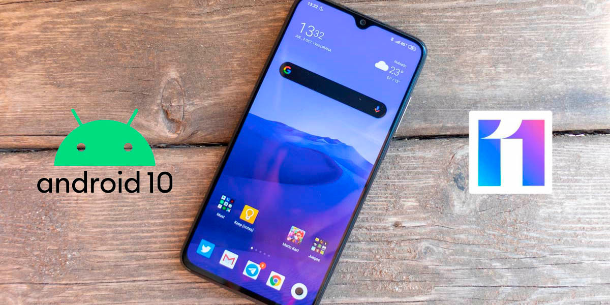 xiaomi mi 9 lite MIUI 11 Android 10