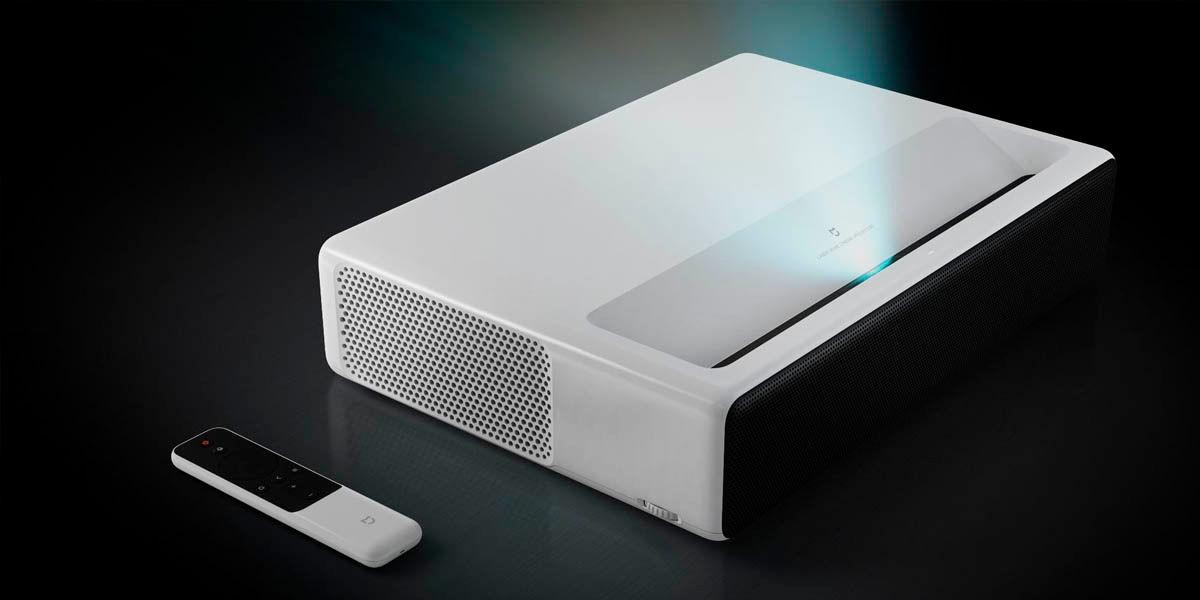 xiaomi mi laser 150 el mejor proyector profesional con android tv
