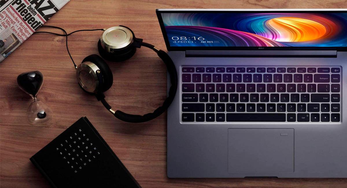xiaomi mi notebook pro 15 2020 con sonido dolby premium y altavoces Harman