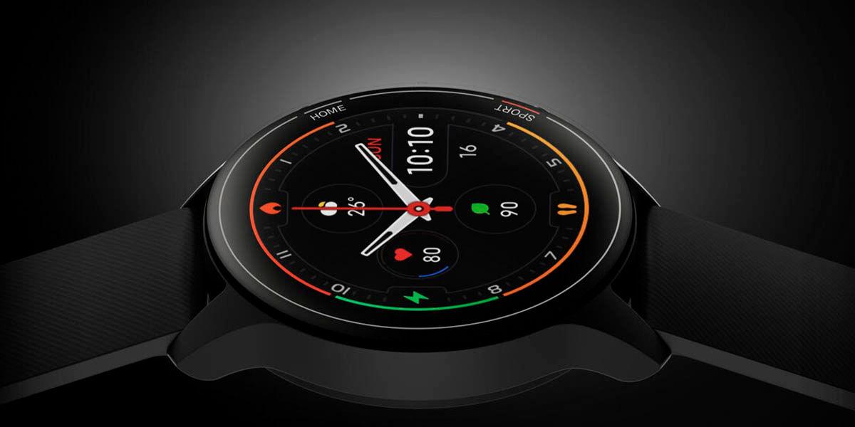 xiaomi mi watch pantalla diseño