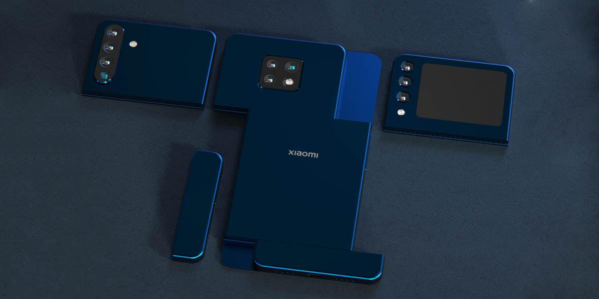 xiaomi patenta móvil modular