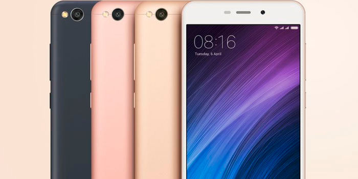 Xiaomi Redmi 4A colores
