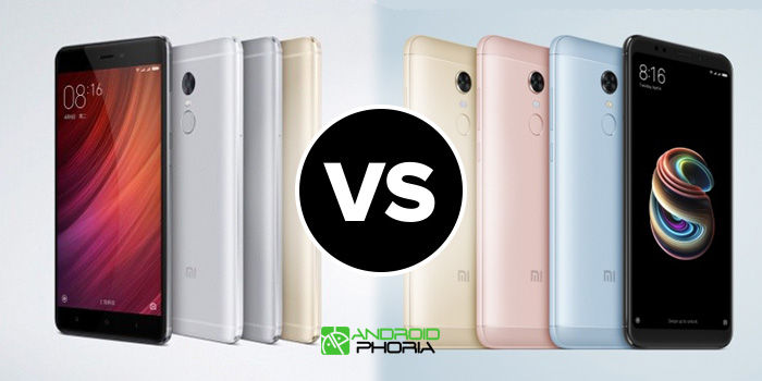 xiaomi redmi note 4 vs redmi note 5 comparativa