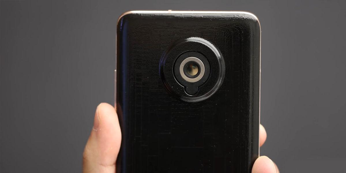 xiaomi smartphone cámara trasera retráctil