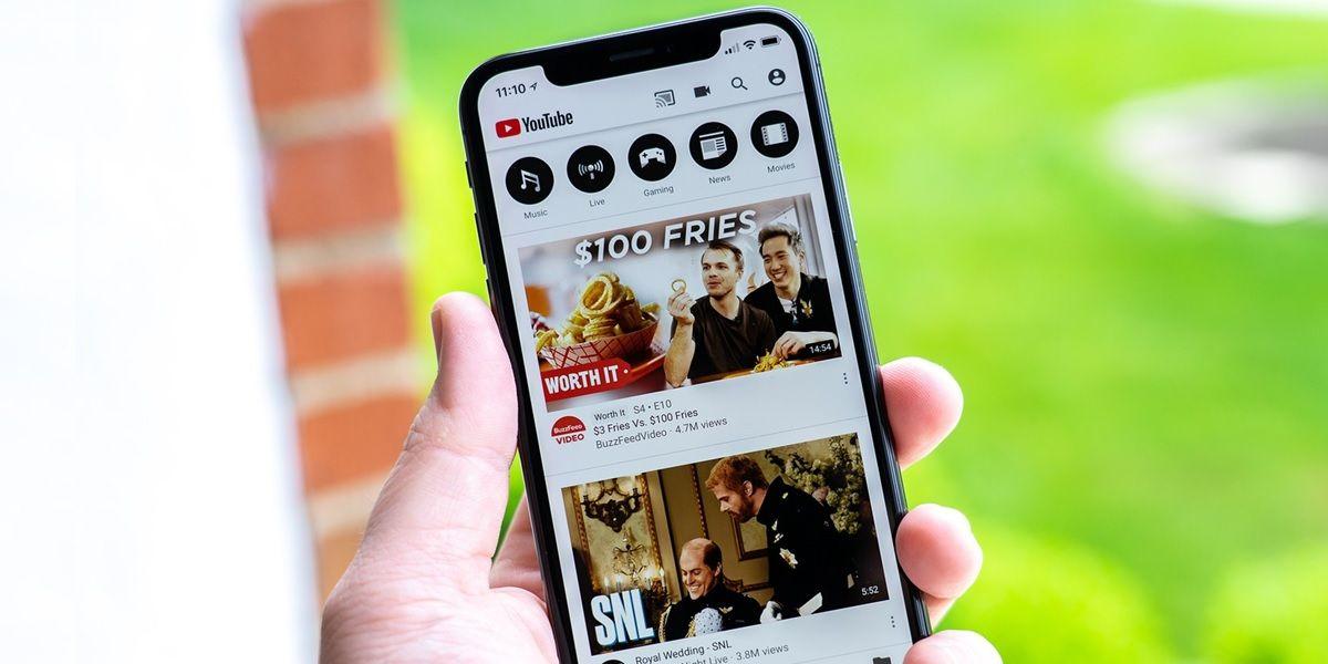 youtube en iphone