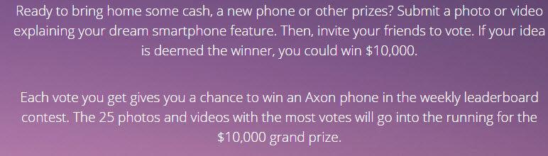 zte axon phone presentado en julio2