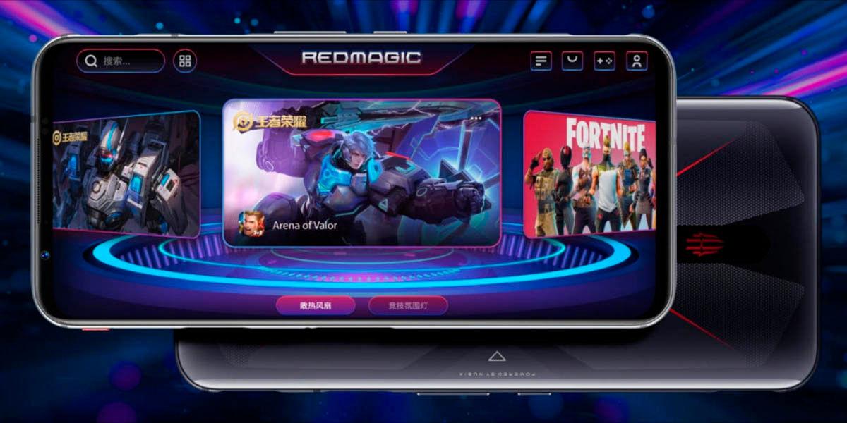 zte nubia redmagic 5g mejor pantalla móvil para jugar